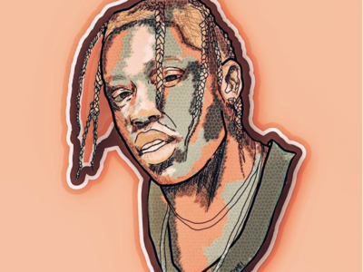 TRAVIS SCOTT ILLUSTRATION