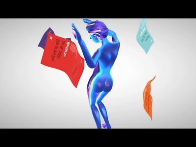 Awwwards SOTD - All Night Long logo face branding design character animation acid 3d 3d animation animation