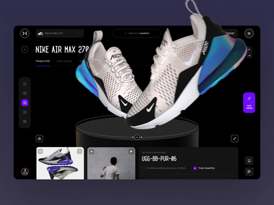 AR Kicks ar augmented reality augmentedreality cinema4d acid 3d animation