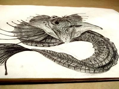 Pencil drawings learning progress.