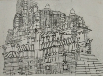 Perspective Pencil Drawing