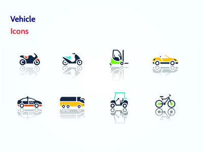 Vehicle Icons | Set 2