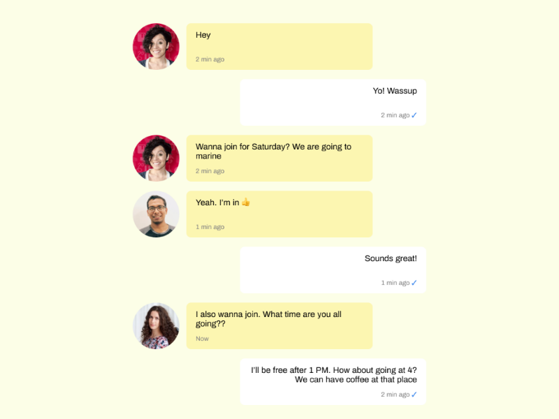 Group Chat figmadesign uiux web desktop chat group mobile ui figma