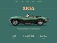 Jaguar classic xkss