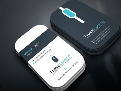 Logo and Business Card for TraveLiaison
