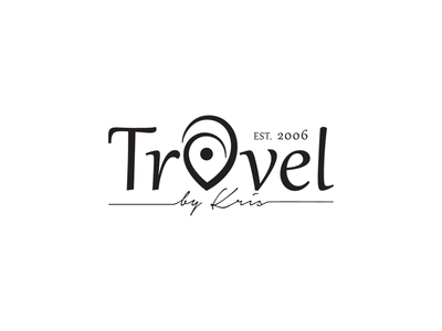 "Travel agency logo ""Travel by Kris"""
