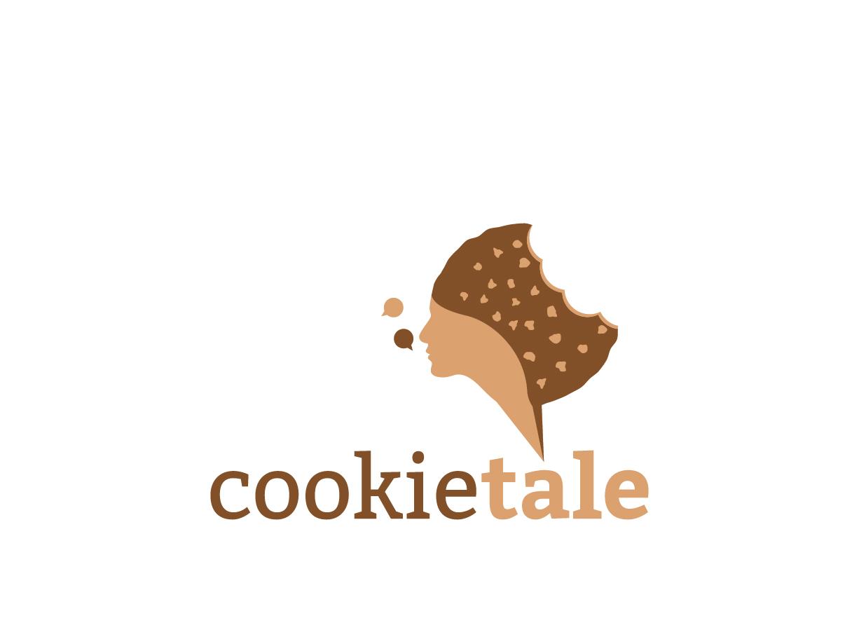 CookieTale gathering cookies eat gossip restaurant food story tale cookie illustration logo inspiration fine logo creative logo logo inspiration nice logo best logo