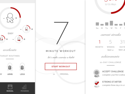 Fit XXI App | Making Exercise a Habit in a 21-Day Challenge