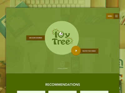 Ivy Tree : Home Page ivytree home index landing client education courses video