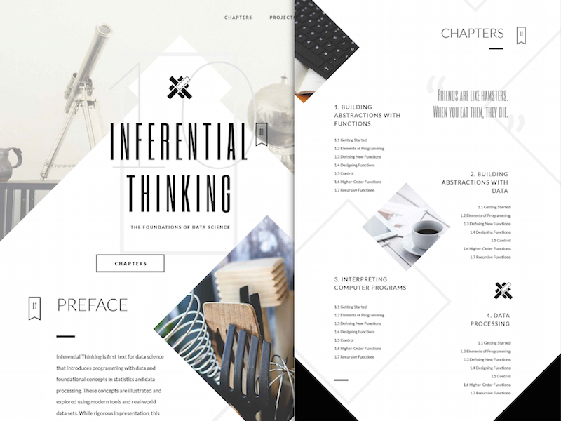 Inferential Thinking Textbook inferential thinking textbook