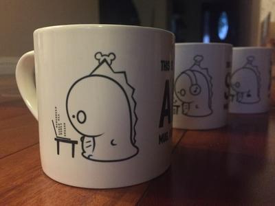 Christmas 2015 Mugs feat. JooJoo