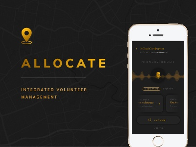 Allocate - Integrated Volunteer Management management event ios mobile app volunteer
