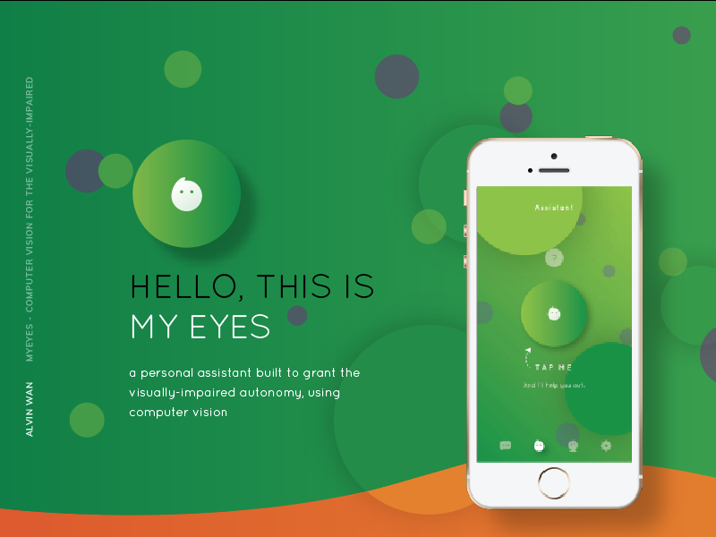 MyEyes Case Study branding icon design color ios mobile