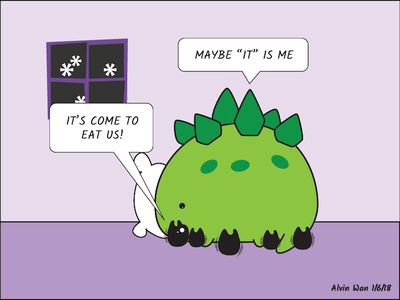 Joojoo the Derpy Dino journal critter cute comic character
