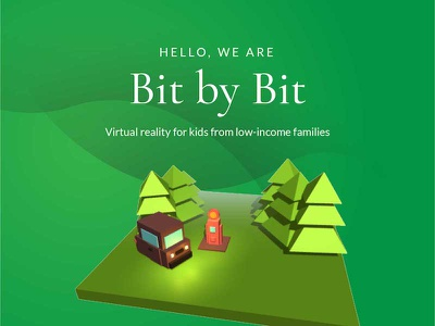 Bit by Bit Website Redesign redesign models website virtual reality 3d