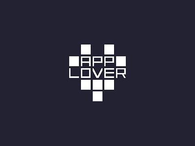 Applover Logo Animation 💚 animated logo typography logo typography animate logodesign logotype vector logo illustration branding particles applover heartbeat heart animation flat minimal design