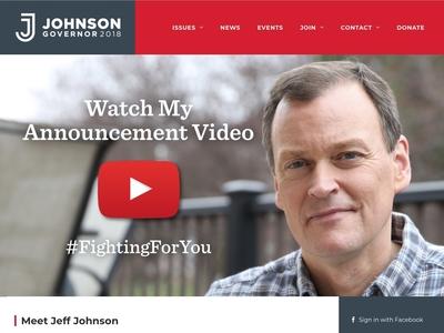 Johnson Website