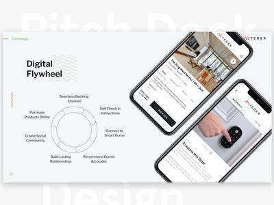 Hospitality mobile app design