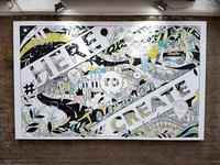 Adidas Studio Mural II