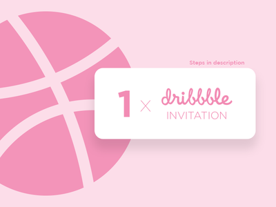 Dribbble Invite Giveaway - CLOSED