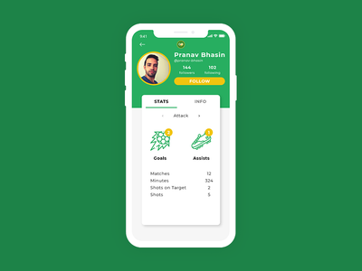 User Profile - Daily UI #006