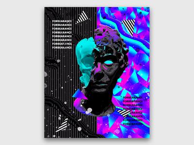 Abstract Vaporwave Art