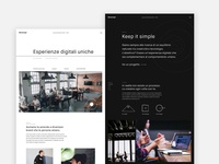 Beconcept Studio website