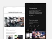 Beconcept Studio website