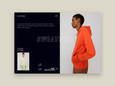 Lens Gallery concept fashion transition slider brand ui motion animation animation after effects motion