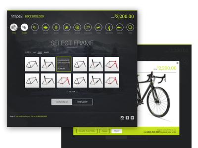 Bike builder preview