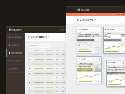 Analytics dashboard web app analytics stats list card cards play inbox sidenav