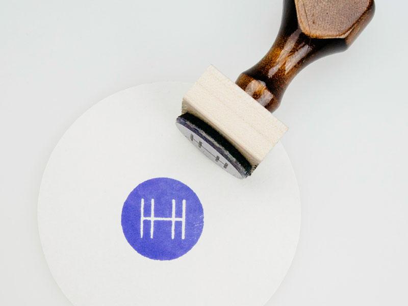 Triple-H Monogram monogram h lumi stamp logo