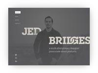 jedbridg.es WIP