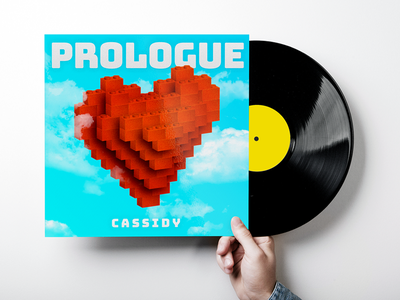 Prologue Album Cover logos leto sky clouds heart lego prologue cassidy tracks vinyl cover album