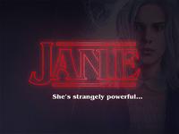She's strangely powerful...