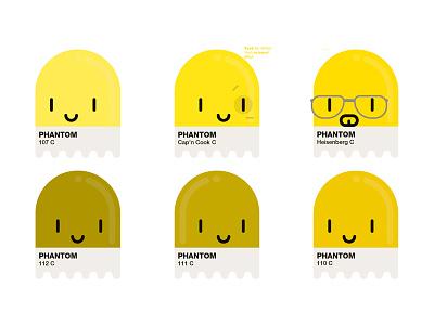 Yellow Phantom Pantone phantom pantone breakingbad