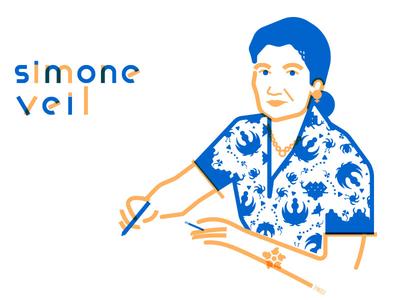 Simone Veil france feminism simone veil homage