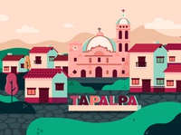 Magic town of Mexico