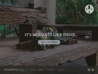 Daily Ui 3   Landing Page For Wedding Photography