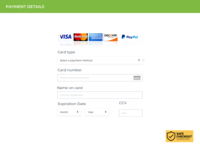 Daily Ui 2   Credit Card Checkout
