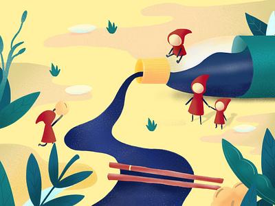 Soy Sauce illustration