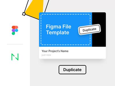 Figma File Template — Freebie!