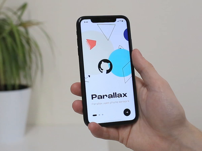 Interactive prototypes with three-layer parallax parallax prototype ui mobile motion animation interaction