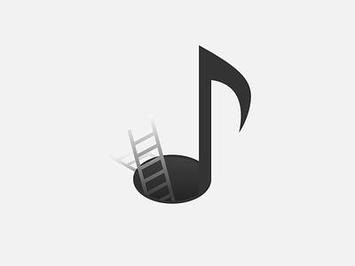 Stairway to Music logodesign branding logo vector illustration vector design illustration graphic design graphic