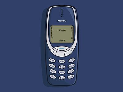 Nokia 3310 inspiration creative nokia vector illustration graphic design graphic vector design illustration