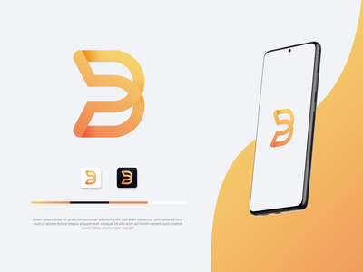 Minimalistic logo for an app and login UI app logo ux ui graphic design graphic vector design