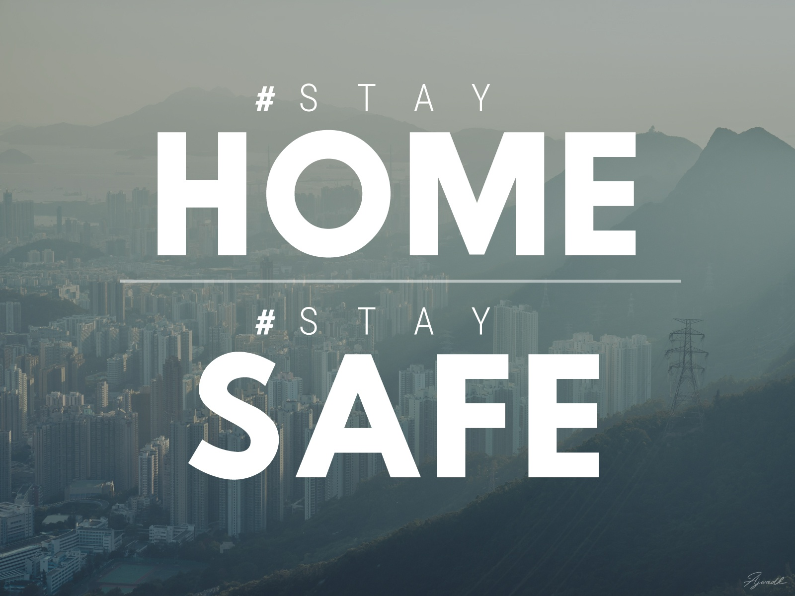 Stay HOME Stay SAFE by Muhammed Ajwad K on Dribbble