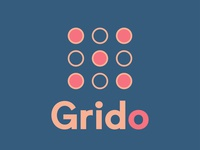 Grido Based Logo grid logo logotype logodesign brand brand identity brand design logo design vector animation typography logo illustration design icon app branding