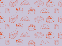 Pastry Pattern for Contemporary Baker