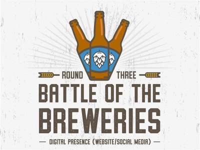 Battle of the Breweries: Round 3 freelance design logos graphicdesign breweries beer